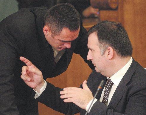 Aleksandar Damjanović, Srđan Milić