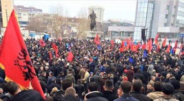 protest Priština, Haradinaj