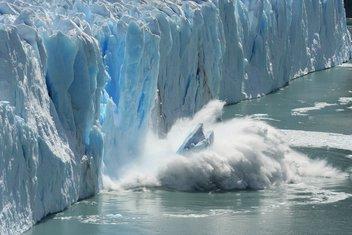 glečer, led, topljenje leda