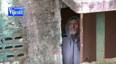 Života Vasić, beskućnik