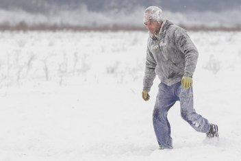 snijeg Rumunija