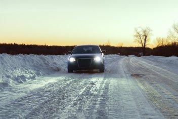 Snijeg, vožnja