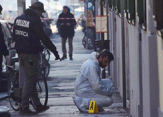 Firenca, povrijeđen policajac