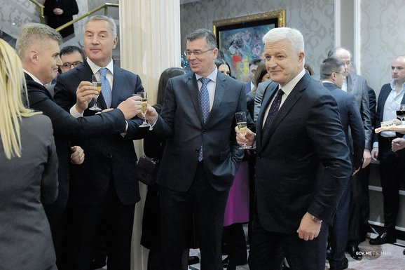 Milo Đukanović, Branimir Gvozdenović, Duško Marković