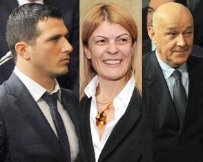 Nikola Janović, Sanja Damjanović, Darko Radunović