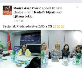 Daliborka Pejović, ŽAD
