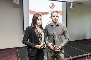 Milana Rovčanin i Nikola Lakčević