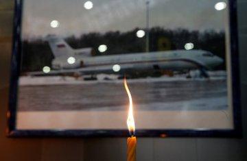 Tu-154, pad ruskog aviona