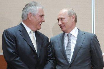 Reks Tilerson, Vladimir Putin