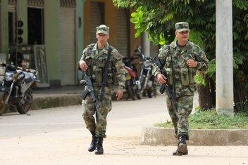 Kolumbija vojska