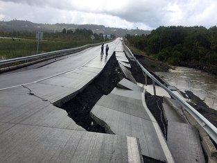 Čile zemljotres