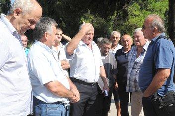 Kapovci, protest