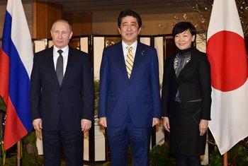 Vladimir Putin, Šinzo Abe