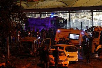 eksplozija, Istanbul