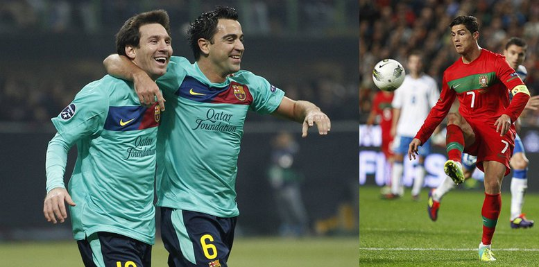 Mesi, Ronaldo i Ćavi