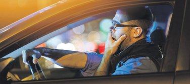 vozač, pospanost, umor