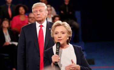 Donald Tramp, Hilari Klinton
