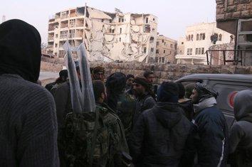Sirija, Alepo, pobunjenici