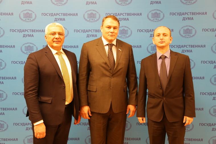 Andrija Mandić, Petar Tolstoj, Milan Knežević