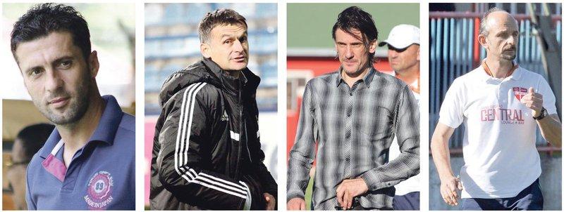 Miljan Radović, Mirko Marić, Nebojša Jovović, Radislav Dragićević