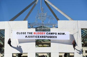 Australija, azilanti