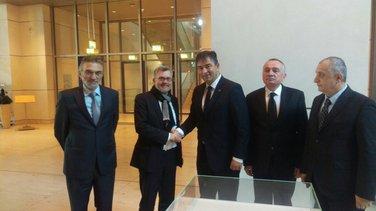 Ditmar Nitan. Strahinja Bulajić, Nebojša Medojević, Branko Radulović, Predrag Bulatović