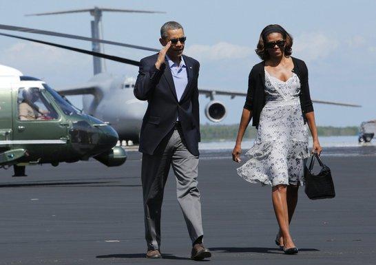 Barak Obama, Mišel Obama
