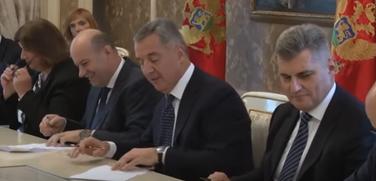 Potpisivanje postizbornog sporazuma