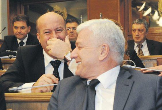 Rafet Husović, Duško Marković
