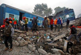 Indija željeznička nesreća
