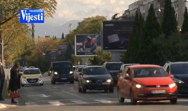 Podgorica, automobili, saobraćaj