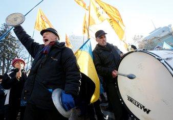 protest Kijev