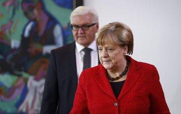 Angela Merkel Frank Valter Štajnmajer