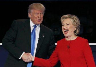Donald Tramp Hilari Klinton