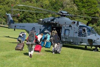 Novi Zeland turisti evakuacija