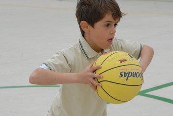 dijete, košarka