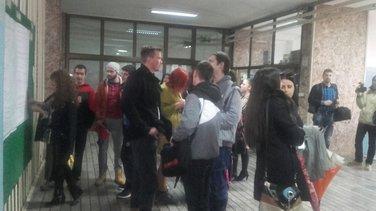 Studenti Filozofskog i Filološkog fakulteta, Nikšić, protest