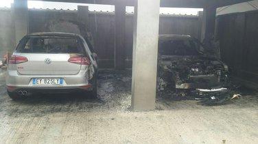 Zapaljena vozila u Donjoj Gorici