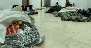 oduzeta oprema teroristički napad