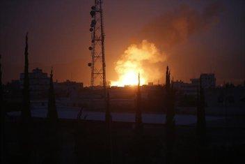 Sana, Jemen, bombardovanje