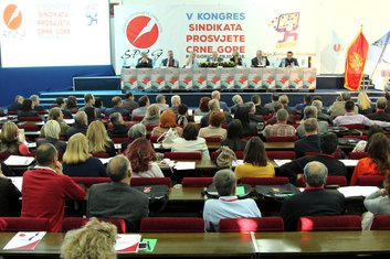 Peti kongres sindikata prosvjete