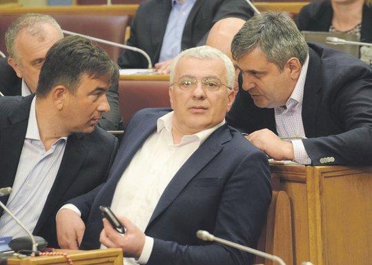 Nebojša Medojević, Andrija Mandić, Slaven Radunović