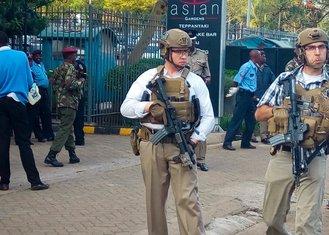 Kenija, vojnici SAD