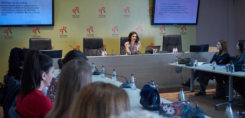 Sa treninga za članice mreže nevladinih organizacija za borbu protiv vršnjačkog nasilja