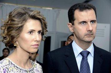 Asma al-Asad, Bašar al-Asad
