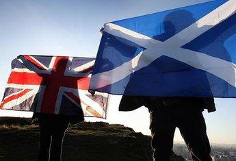 Velika Britanija i Škotska, zastave