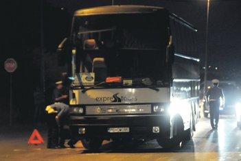 Autobus koji je udardio malog Danila