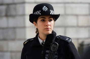London, policajka