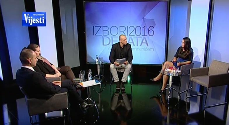 Izbori 2016, emisija
