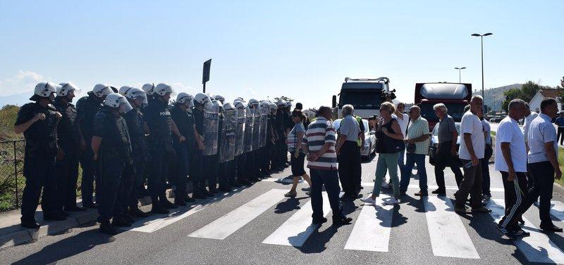 bivši radnici KAP-a blokada